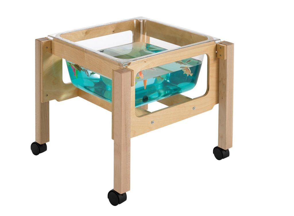 10. Childcraft 1491071 Toddler Sand and Water Table with Tub