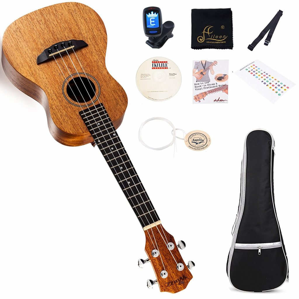10. Soprano Beginner Set with Gig Bag, Tuner, Finger Sticker