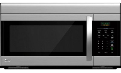 LG LMV1683ST Over-The-Range Microwave Oven with 300 CFM Venting System, 1.6 Cu.Ft.