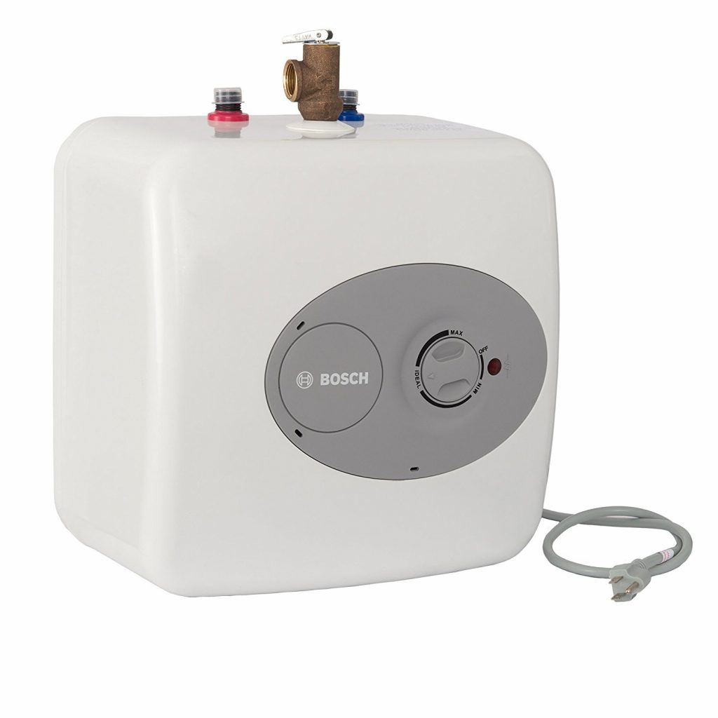 2. Bosch Tronic 3000 T 2.5-Gallon Electric Mini-Tank Water Heater