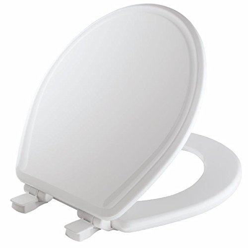 2. Mayfair Molded Wood Toilet Seat featuring Slow-Close, Easy Clean