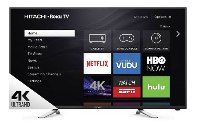 Hitachi 60 Class 4K UHD TV with Roku - 60R70