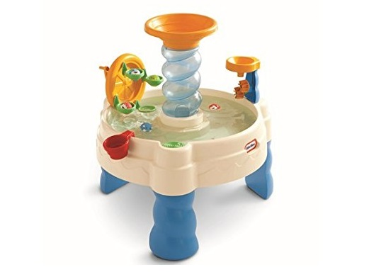 3. Little Tikes Spiralin' Seas Waterpark Play Table