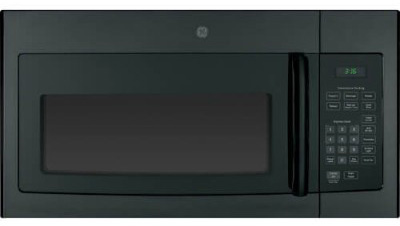 GE JVM3160DFBB 30 Over-the-Range Microwave Oven with 1.6 cu. ft. Capacity in Black