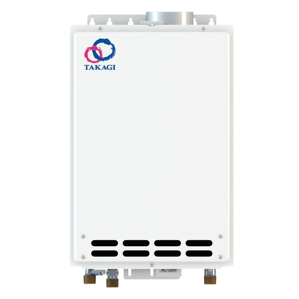 4. Takagi T-KJr2-IN-NG Indoor Tankless Water Heater, Natural Gas