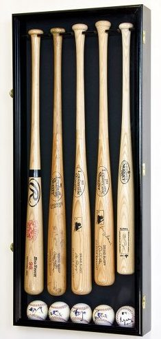 5 Baseball Bat Display