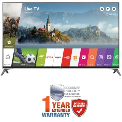 LG 60-inch Super UHD 4K HDR Smart LED TV 2017 Model (60UJ7700)