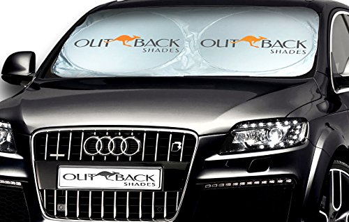 Outback Shade Windshield Sunshade - Car Sun Shade - Premium Sun Shield