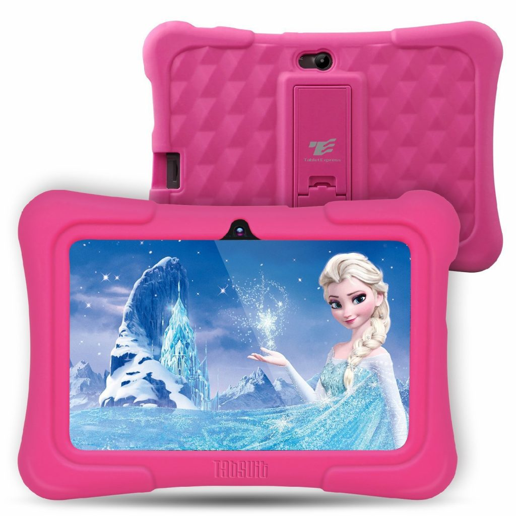 6. Dragon Touch Y88X Plus 7 inch Kids Tablet 2017 Version, Kidoz Pre-Installed with All-New Disney Content