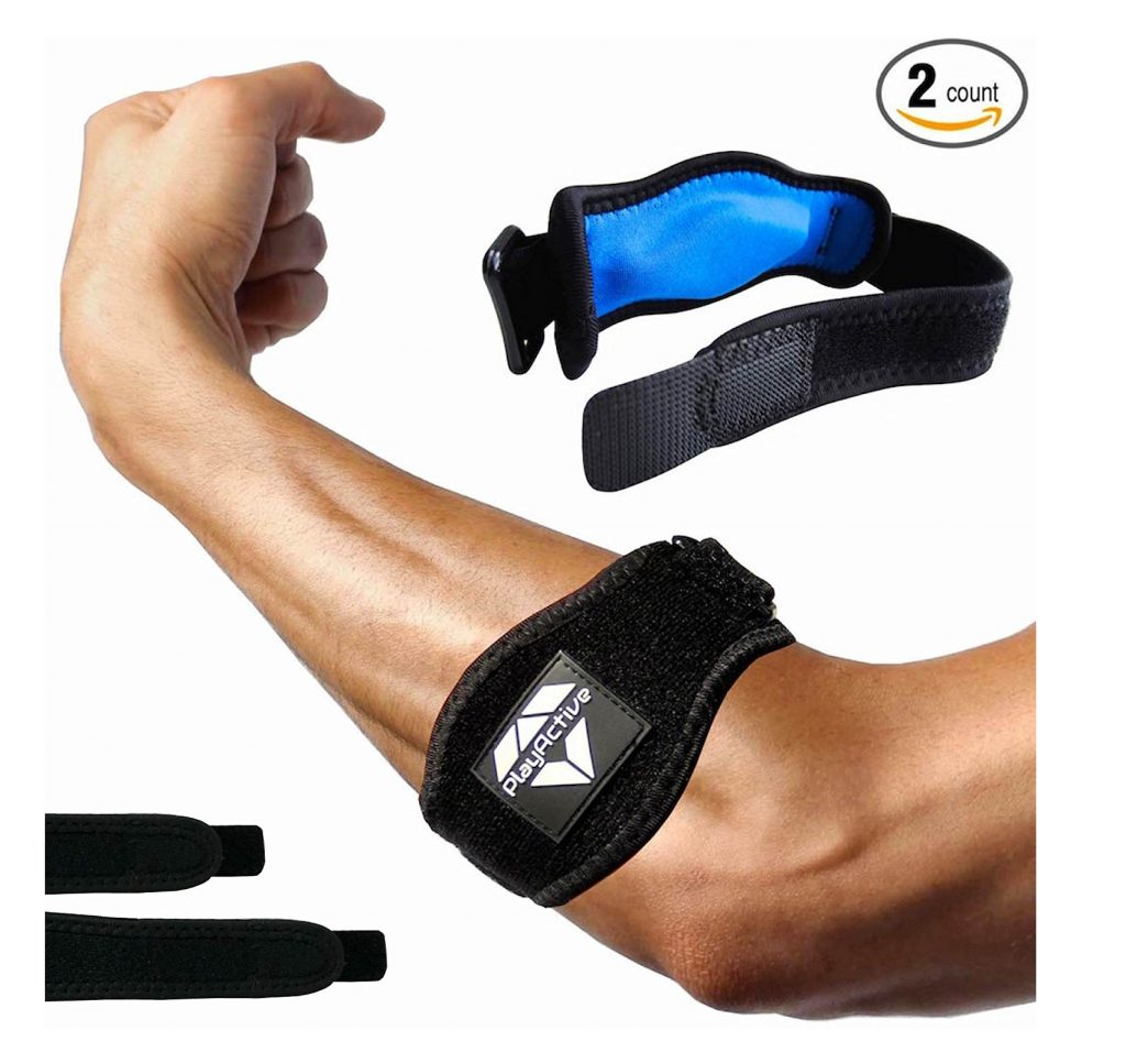6. Tennis Elbow Brace (2+2 Pack) for Tendonitis