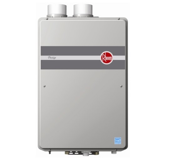 7. Rheem RTGH-95DVLN 9.5 GPM Indoor Direct Vent Tankless Natural Gas Water Heater