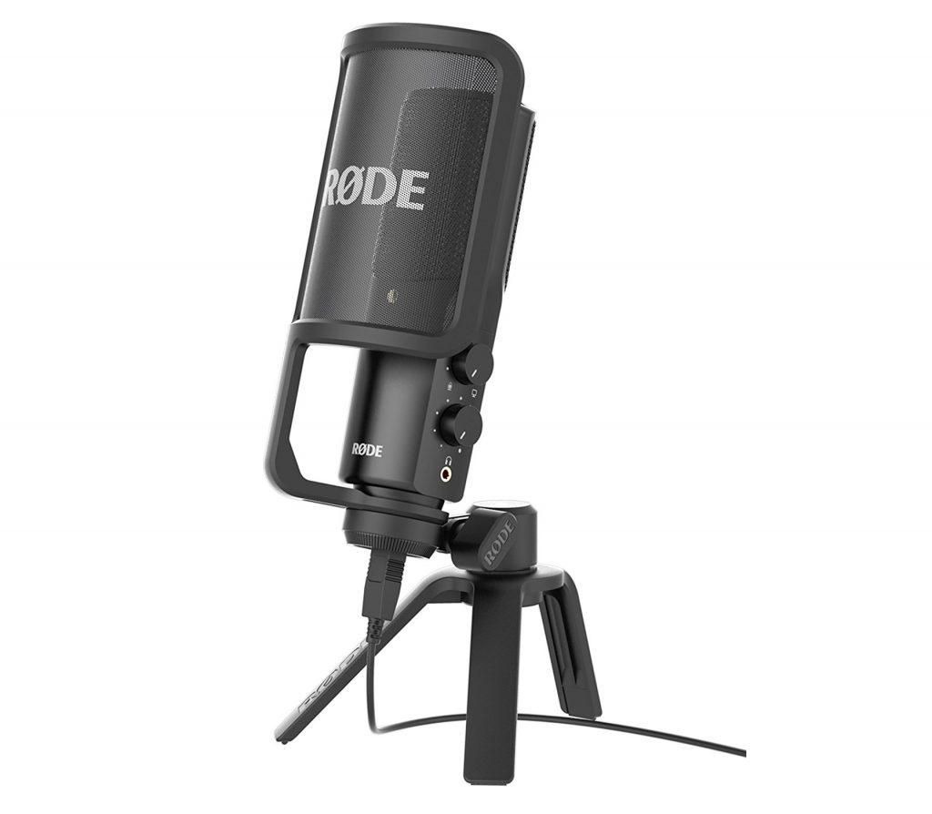 7. Rode NT-USB USB Condenser Microphone