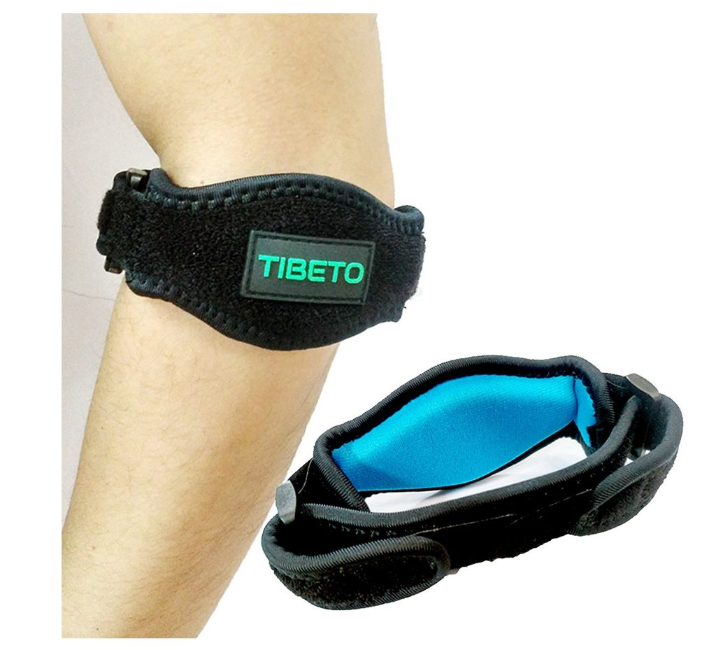 9. Tennis Elbow Brace with Compression Recovery Pad for Pain Relief. Great support for Women & Men. One size for all