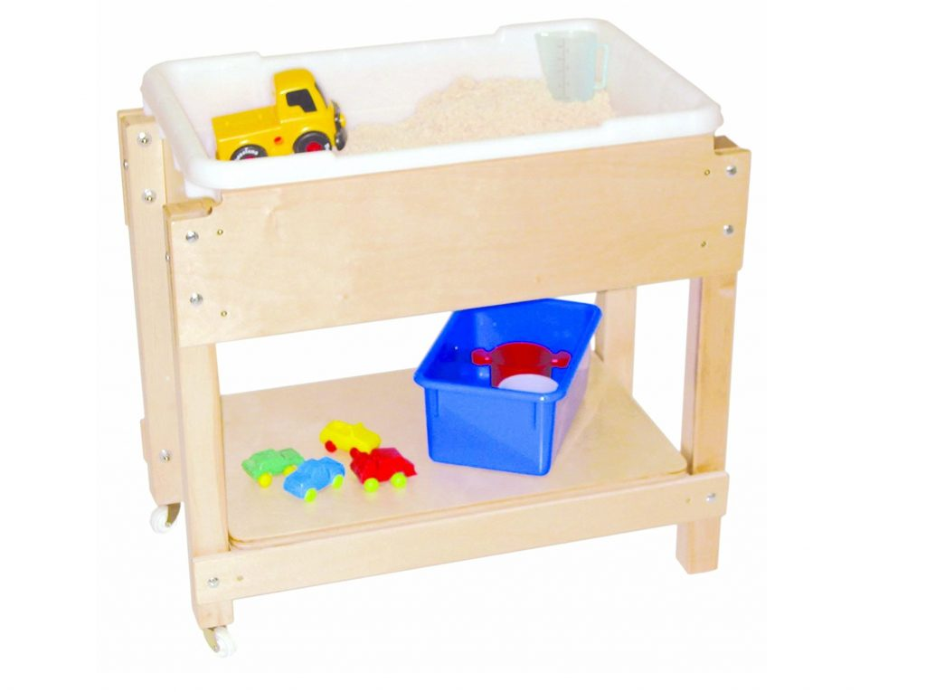 9. Wood Designs WD11811 Petite Sand and Water Table with Lid