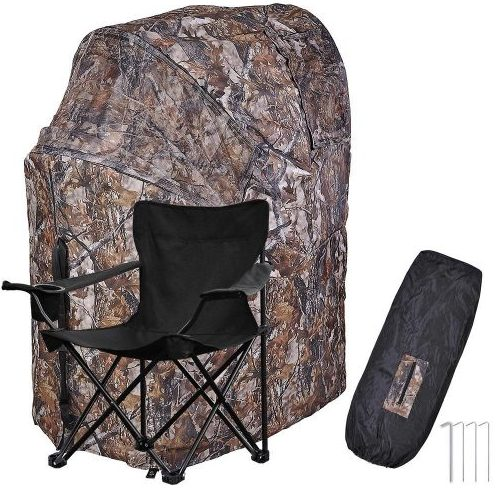 AW 1 Man Fold Chair Ground Deer