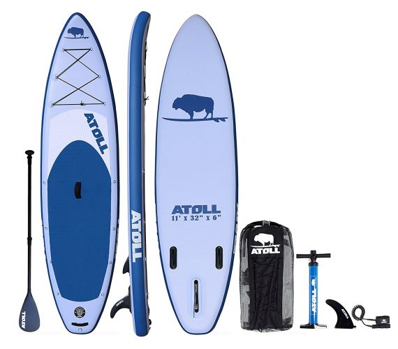 Atoll 11' Foot Inflatable Stand up