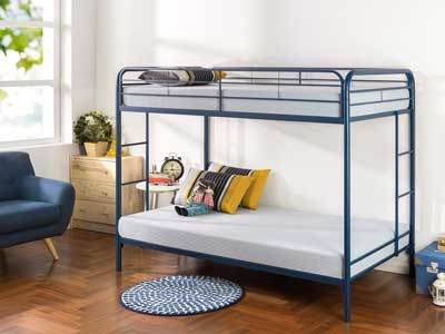 Top 10 Best Metal Bunk Bed Reviews of 2019