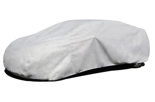 Budge Lite Car Cover Fits Sedans up to 170 inches, B-2 - (Polypropylene, Gray)