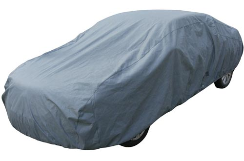 Leader Accessories 5 Layer Car Cover Xtreme Guard Waterproof Breathable Outdoor Indoor Sedan Cover Up To 200""