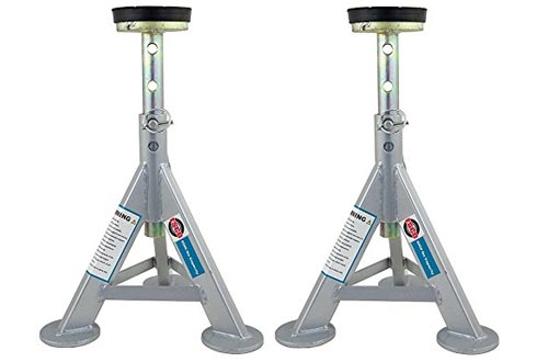 ESCO 10498 Jack Stand, 3 Ton Capacity (Pack of 2)