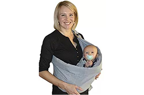 OUR BEST BABY SLING WRAP CARRIER for Newborns, Infants, & Toddlers, Ergonomically-Designed Child Carriers, Makes Parent-Child Bonding Time Easier & Extra-Comfortable, The Perfect Baby Shower