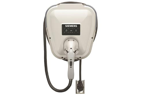 Siemens US2:VC30GRYU VersiCharge Universal (VC30GRYU): Fast Charging, Easy Installation, Flexible Control, Award Winning, UL Listed, J1772 Compatibility, 20ft Cable, NEMA 6-50 Plug
