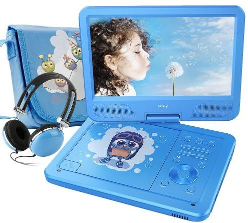 "FUNAVO 10.5"" Portable DVD Player"
