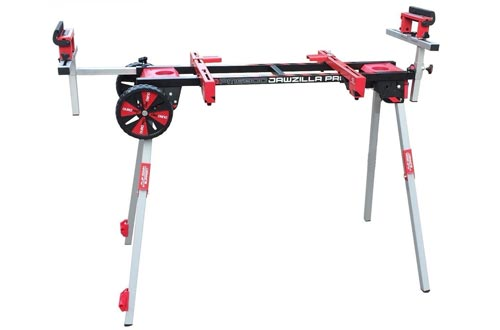 909 PM6300W Miter Saw Work Stand Power Perfect for Benchtop Tools with Wheels