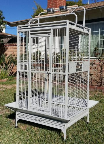 New Large Play Top Bird Cage Parttot
