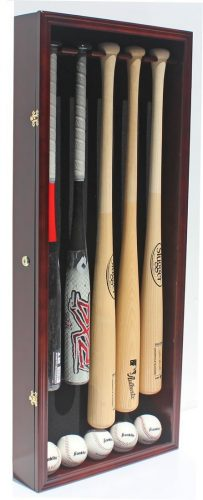 Pro UV 5 Baseball Bat Display Case