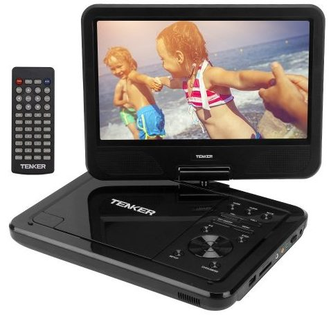 "TENKER 10.5"" Portable Dvd Player"