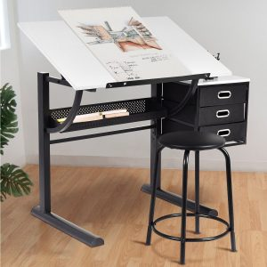 Tangkula Adjustable Drafting Table