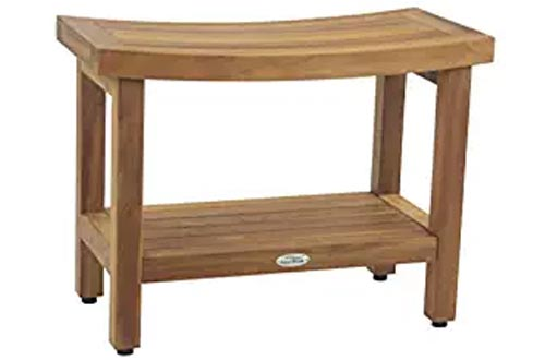 "The Original Sumba 24"" Teak Shower Bench with Shelf"