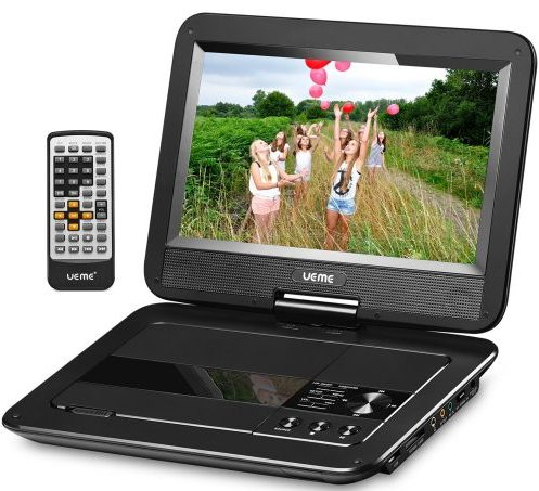"UEME 10.1"" Portable DVD Player"