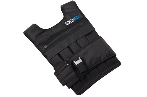 RUNFast/Max 12lbs-140lbs Adjustable Weighted Vest