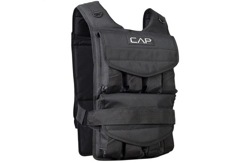Shoulder Pads RUNFast//Max 12lbs-140lbs High Quality Adjustable Weighted Vest w