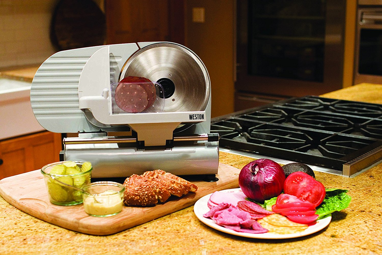 Top 10 Best Electric Meat Slicers In 2018 Reviews