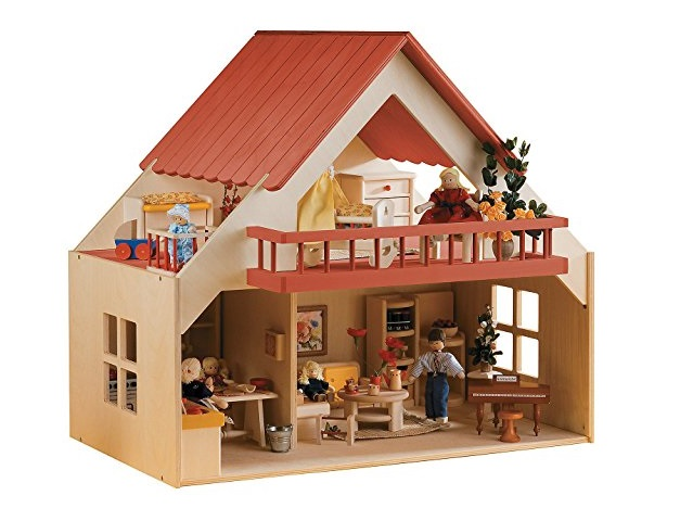 10. WOODEN DOLL HOUSE