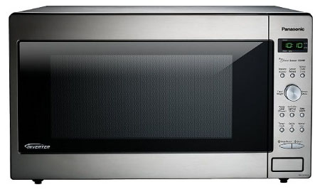 Panasonic NN-SD945S with Inverter Technology, 2.2 cu. ft., 1250W, Stainless