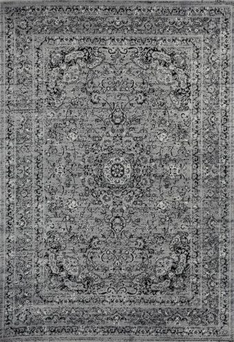 3212 Distressed Gray 7'10x10'6 Area Rug Carpet Large New