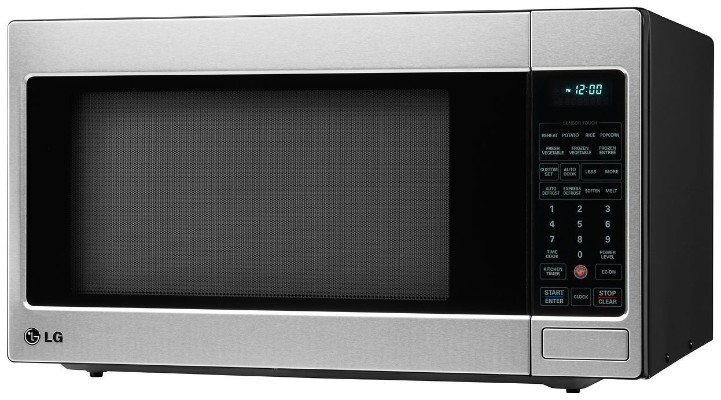 LG LCRT2010ST 2.0 Cu Ft Counter Top Microwave Oven with Easy Clean, Stai