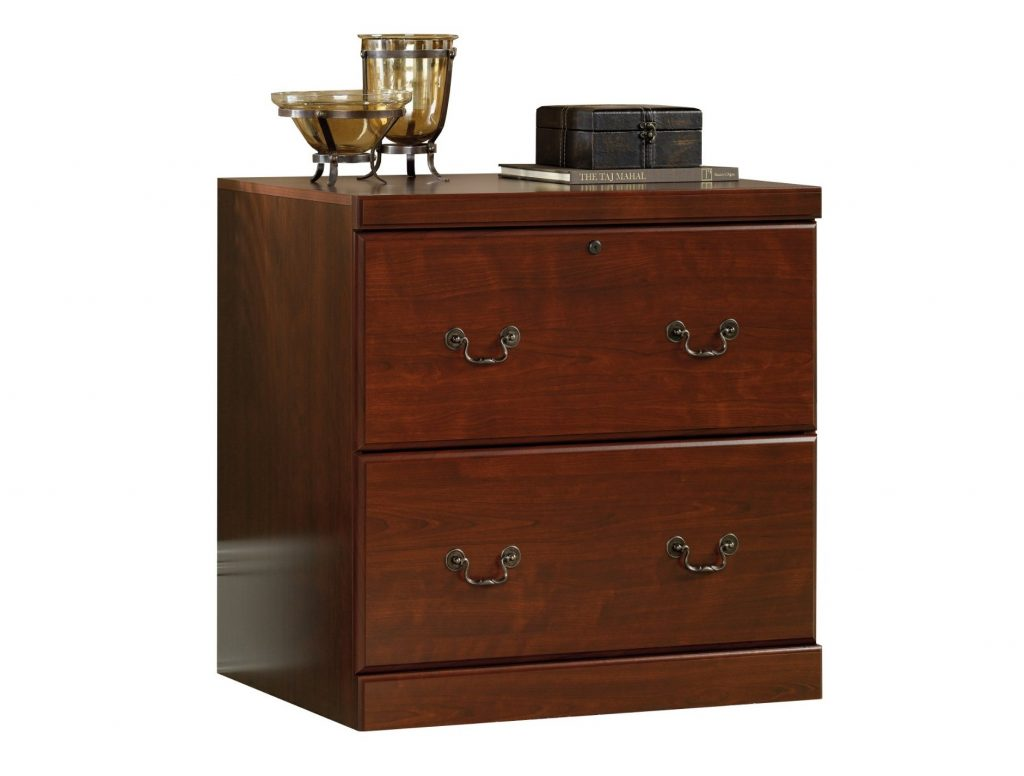 4. Sauder Heritage Hill Lateral File, Classic Cherry Finish