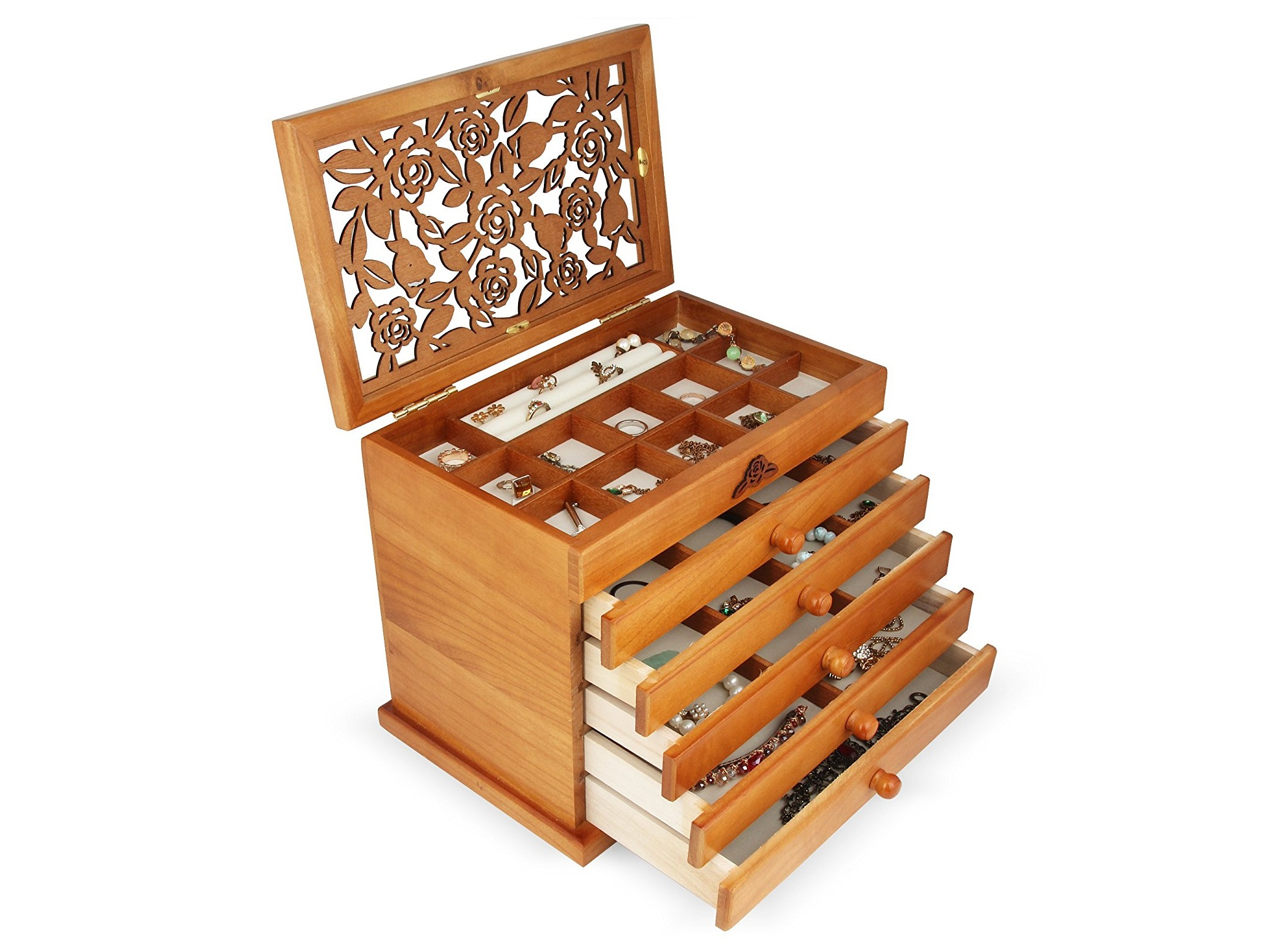 Top 10 Best Wooden Jewelry Boxes in 2019