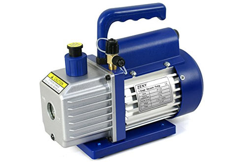 ZENY 4CFM 1/3HP Electric Vacuum Pump Refrigerant