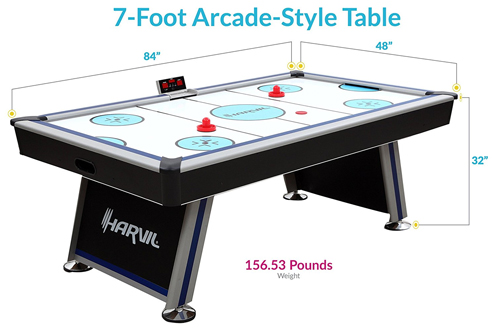 Top 10 Best Air Hockey Tables for Adults Reviews In 2018