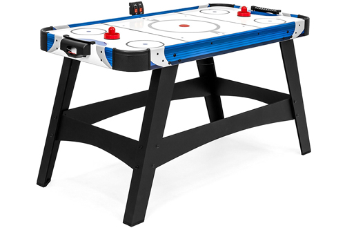 Air Powered Hockey Table with Puck, Paddles, LED Score Board