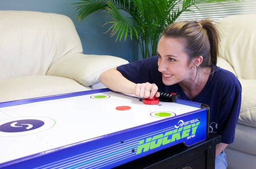 Sport Squad HX40 40-Inch Electric Tabletop Air Hockey Table
