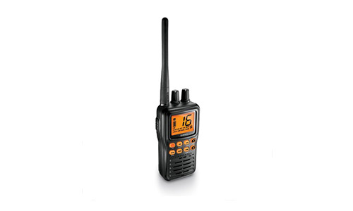 3. Uniden MHS75 Handheld Submersible 2-Way 5W VHF Marine Radio