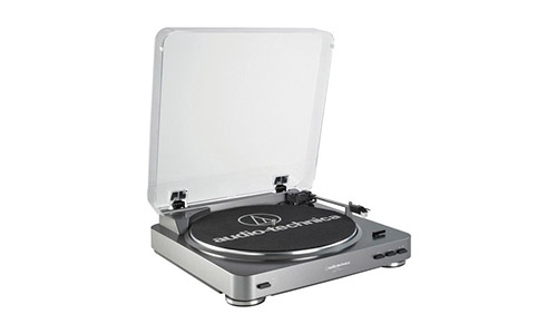 6. Audio Technica AT-LP60 Fully Automatic Stereo Turntable System