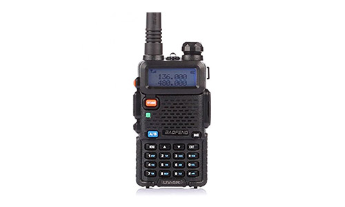 7. BaoFeng UV-5R Dual Band Two Way Radio